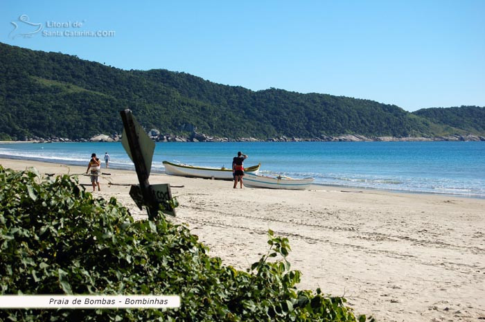 Praia de Bombas - Bombinhas