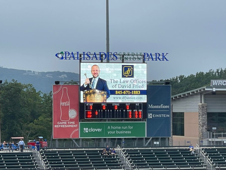 The Law Offices of David Fried, PC at Rockland Boulders!