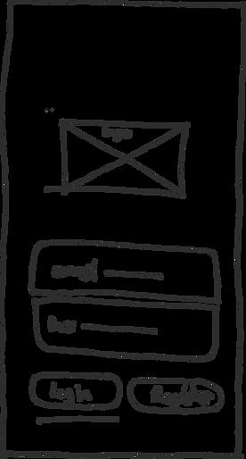 Login page sketch