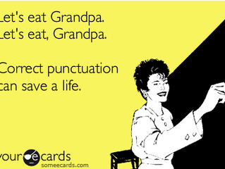 Do you think you're good at spelling, grammar and punctuation?