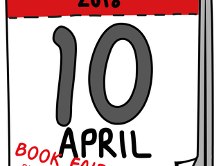 Literary Events around the UK in April