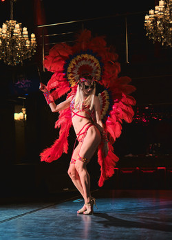 Dance Show Luxury Women