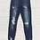 Thumbnail: Kan Can Distressed Skinny Jeans