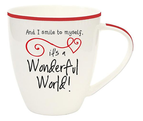 What a Wonderful World Message Cup