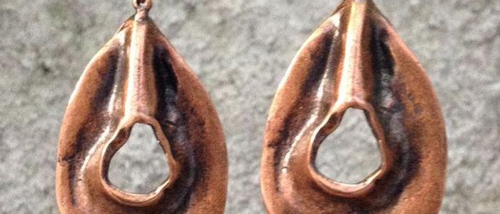 Sculptured Earrings