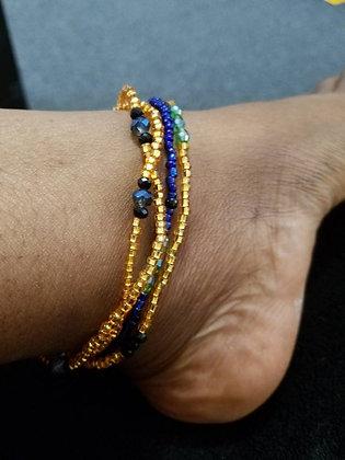 Screw-on Ankle Bracelet