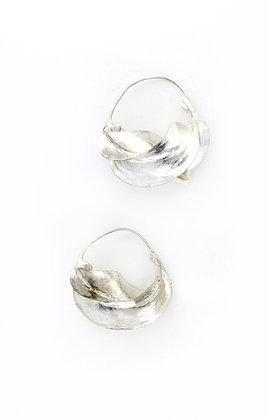 Medium Silver Fulani Earrings