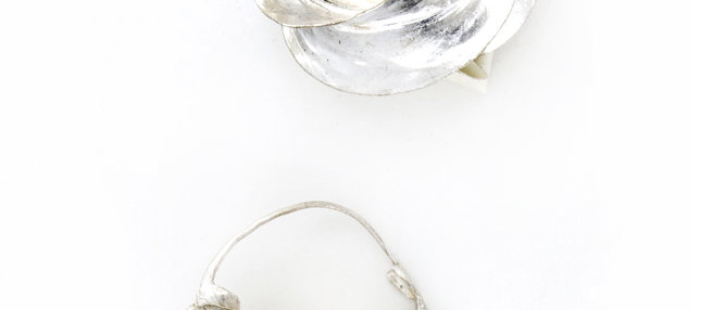 Medium Sterling Silver Fulani Earrings