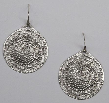 Disc Designed Earrings