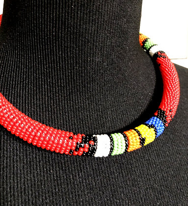 Single Beaded Traditional Handmade Neck Choker