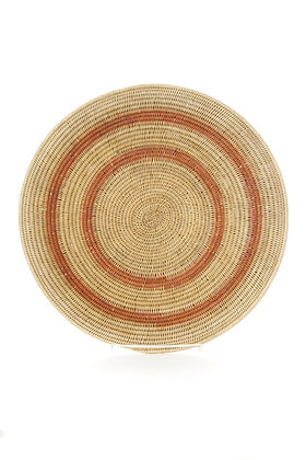 Makenge Root Wedding Baskets from Zambia - Peach Rings