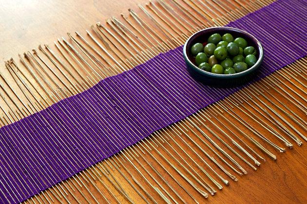 Purple Twig Table Runner