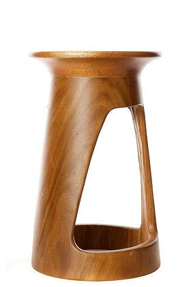 """24"""" Tweneboa Wood Portal Table"""
