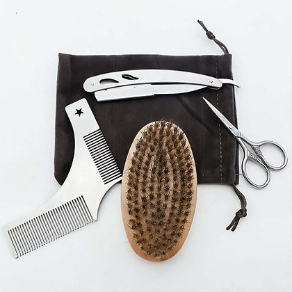THE MAN'S BEARD CARE GROOMING KIT