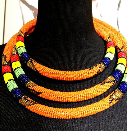 African Beaded Necklace