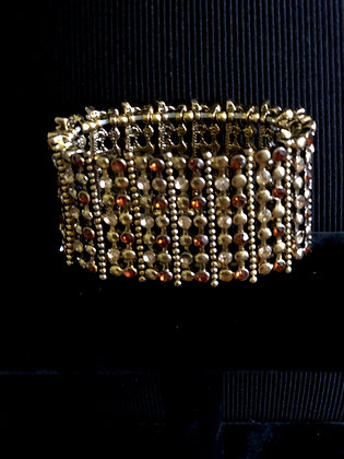 Women's Statement Rhinestone Stretch Paved Crystal Bracelet