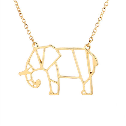 Unique Stainless Steel Elephant  Necklace