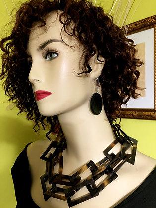 Buffalo Horn Authentic Necklace Set