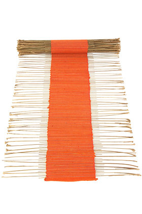 Orange Twig Table Runner