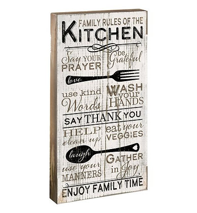 Family Rules In My House For The Kitchen