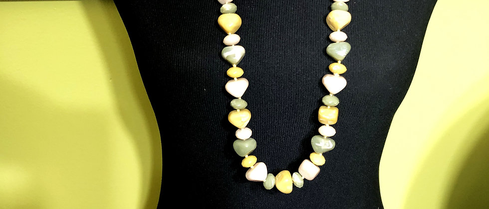 Pastel Colored Long Necklace