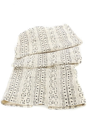 Mudcloth Throw Blanket from Mali