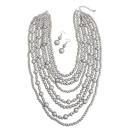 Silver Pearl Multi-Layer Set