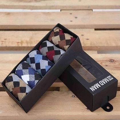 Gentleman's Quality (GQ) 5 Box Gift Sock Set