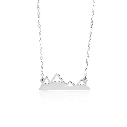 SS Mountain Range Necklace