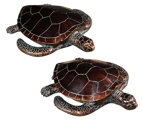 Pair of Turtle Love  (S) 13 Inches and (L) 15 inches