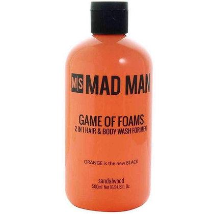 "Men's ""Game of Foam""  Body Wash"
