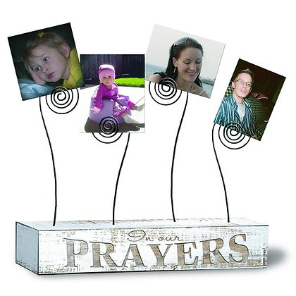 FAMILY PRAYERS PHOTO HOLDERS