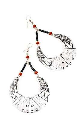 Queen's Crescent Earrings