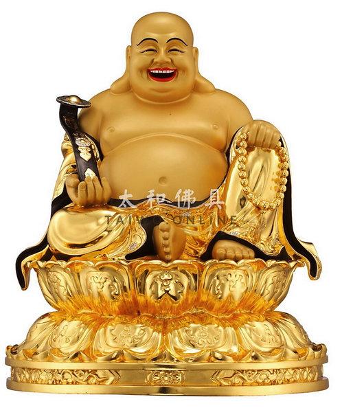 台灣金銅彌勒佛菩薩