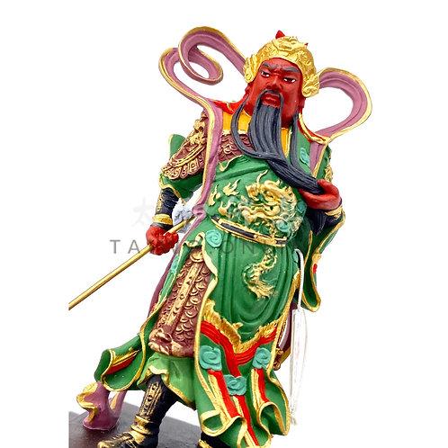 台灣冷瓷伽藍護法(刀下) 11cm