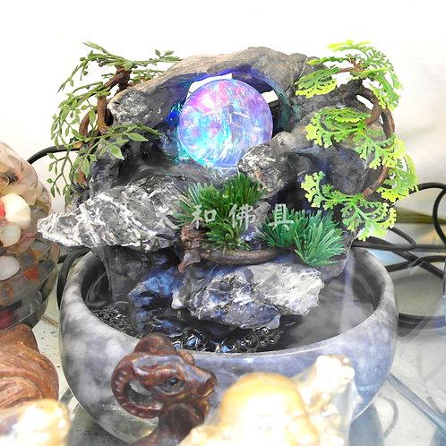 天然石製流水擺設 20cm x 30cm