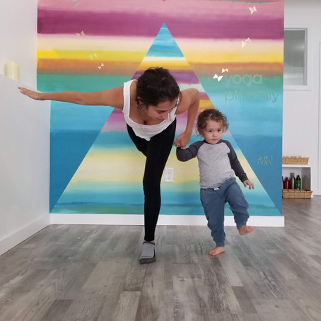 Yoga isn't only for adults