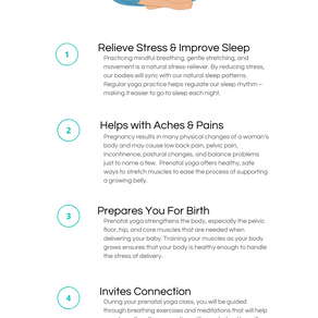 5 Benefits of Prenatal Yoga