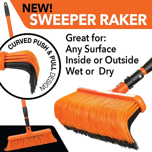 NEW! Sweeper Raker