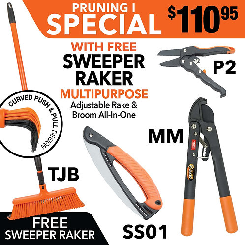 SPECIAL PRUNING I SWEEPER RAKER MM P2 SS01