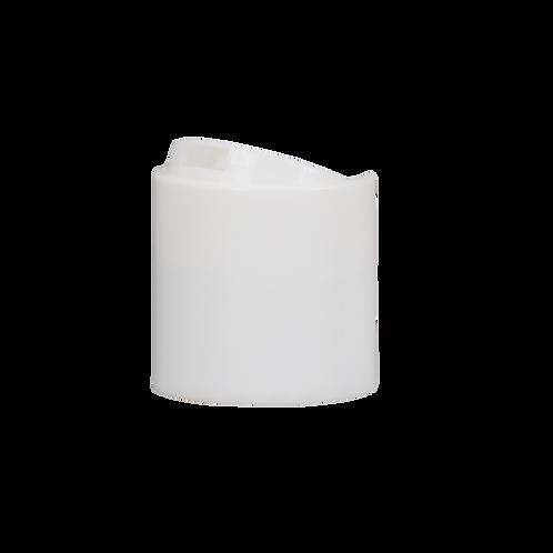 28/410 White Disc Cap