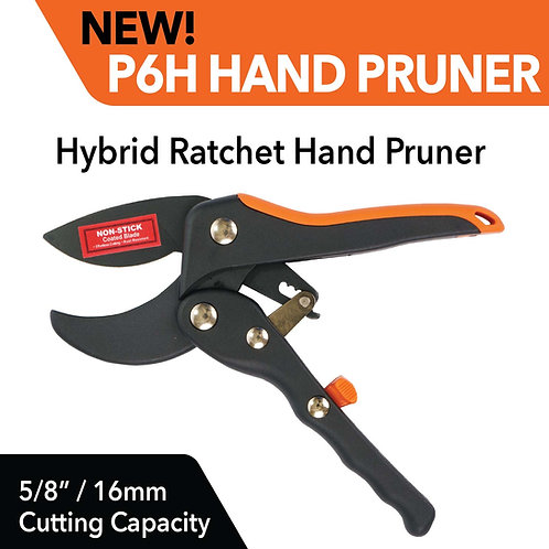 P6H Hybrid Ratchet Hand Pruner
