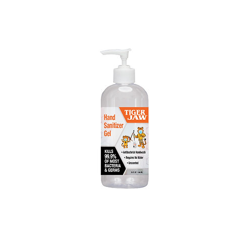 16oz Hand Sanitizer Gel Bottle