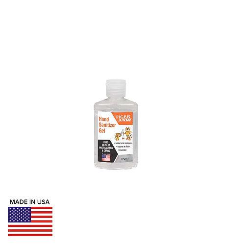 3oz Hand Sanitizer Gel Bottle