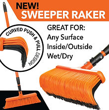 2020 05 15 Sweeper Raker New sweeper rak