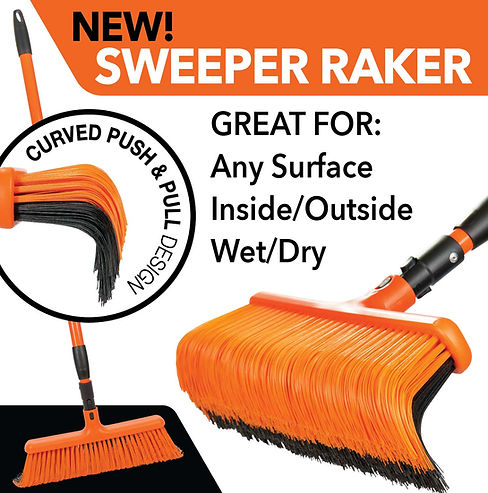 2020 05 15 Sweeper Raker New sweeper rak