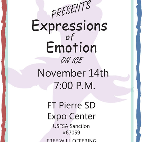 Expressions of Emotion on Ice - Show