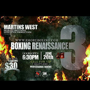 #Boxingislife #BaltimoreBoxingRenaissanc
