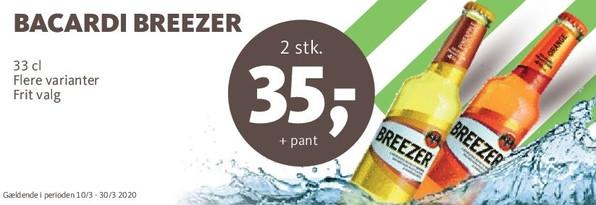 Breezer tilbud