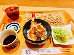 ランチ天丼2